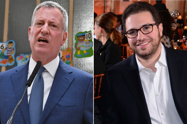 shadey businessmen deBlasio